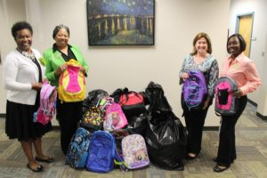Donations for Operation Backpack